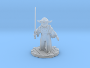 Hipster Yoda in Smooth Fine Detail Plastic