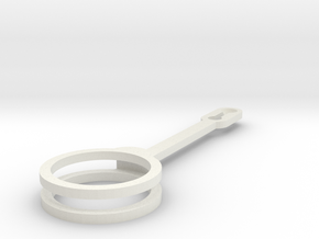 Doube arm for Gondola for polargraph/hanging v plo in White Strong & Flexible