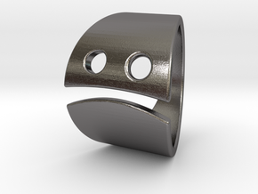 Grincheux in Polished Nickel Steel