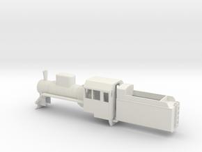 B-76-c2-loco-plus-tender-1a in White Natural Versatile Plastic