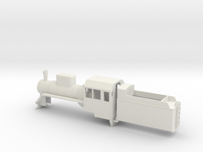 B-55-c2-loco-plus-tender-1a in White Natural Versatile Plastic