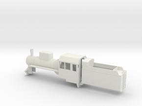 B-35-c2-loco-plus-tender-1a in White Natural Versatile Plastic