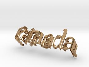Canada Saudi 3,5 Inch 4 in Polished Brass