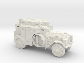 SdKfz 3 (20mm) in White Natural Versatile Plastic