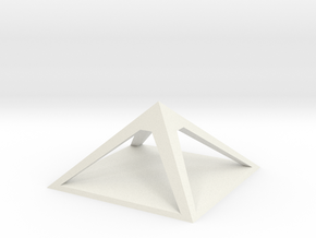 pyramid for charging crystals gemstones other item in White Natural Versatile Plastic