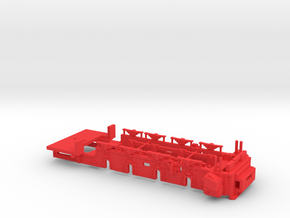 104300-02 1:43 Brigadelok Unterteil in Red Processed Versatile Plastic