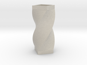 Vase quarter in Natural Sandstone