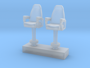 1/144 USN Capt Chair in Smooth Fine Detail Plastic