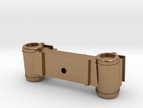 Grant Cylinder Set in Natural Brass
