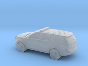 1/87 Ford Explorer Police  Interceptor in Smooth Fine Detail Plastic