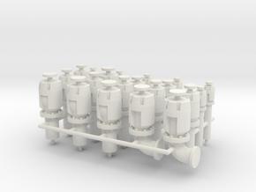 Ventheads (Damen tugboat) in White Natural Versatile Plastic