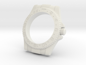 Rolex Housing For 70mm Gauge in White Natural Versatile Plastic