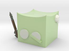 Gelatinous Cube N0gg1n in Coated Full Color Sandstone