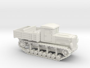 Komintern Tractor (15mm) in White Natural Versatile Plastic