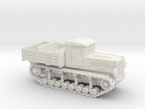 Komintern Tractor (15mm) in White Natural Versatile Plastic