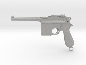 1/4 Scale Broomhandle Mauser in Aluminum