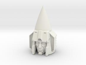 """""""Seeker"""" custom 1:6th scale head in White Strong & Flexible"""