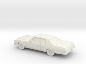 1/87 1977 Chrysler Newport Coupe in White Natural Versatile Plastic