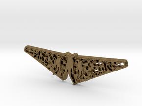 Zombie Filigree Pendant in Natural Bronze