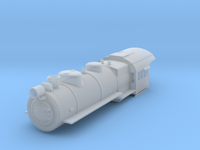 PRR H8/9/10 Boiler Shell S Scale in Smooth Fine Detail Plastic