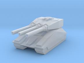 Gauss tank in Smooth Fine Detail Plastic