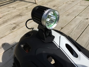 Bell Super Helmet Headlamp Adaptor For CREE type H in Black Natural Versatile Plastic