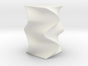 Desk ornament in White Natural Versatile Plastic