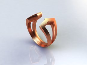 True Focus Ring in Polished Bronze