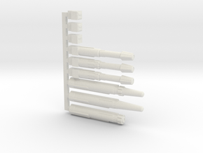 Victory Replacement Parts in White Natural Versatile Plastic