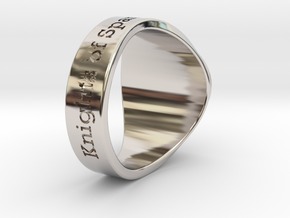 ALTP CHAMP Tuned Ring Season 1 in Rhodium Plated Brass