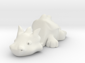 Smartphone Stand Dragon in White Natural Versatile Plastic