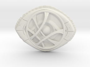 Dr Strange's Eye Of Agamotto in White Strong & Flexible