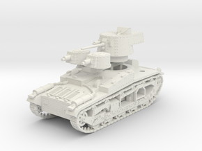 Vickers Medium Mk.III 15mm in White Natural Versatile Plastic