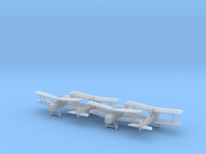1/144 RAF SE-5 x4 in Smooth Fine Detail Plastic