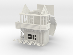 CL71 - Clifton Signal box in White Natural Versatile Plastic
