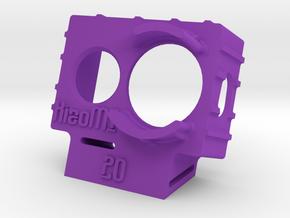XiaoMI Yi Wedge Case (20deg) in Purple Processed Versatile Plastic