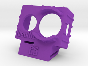 XiaoMI Yi Wedge Case (25deg) in Purple Processed Versatile Plastic