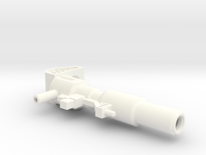Prime Rifle 1 in White Processed Versatile Plastic