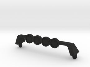 Vortech Blazin' Fury roof/lightbar in Black Acrylic