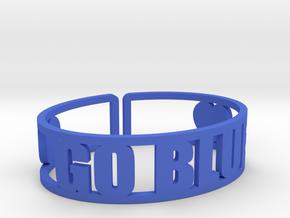 Go Blue Cuff in Blue Processed Versatile Plastic