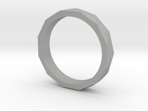 Engineers Ring Size 9 in Aluminum