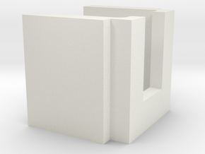 Guage Block in White Strong & Flexible