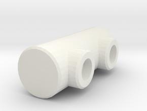 Fridge Pen Holder in White Natural Versatile Plastic