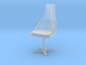 TOS Chair 115 1:24 Scale in Smooth Fine Detail Plastic