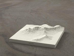 4''/10cm Table Mountain, South Africa in Natural Sandstone