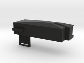 M4 Battery Box in Black Natural Versatile Plastic