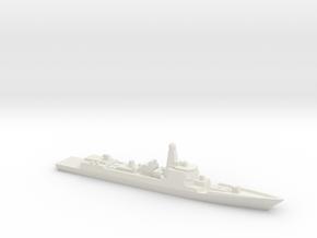 Type 052D Destroyer, 1/2400 in White Natural Versatile Plastic