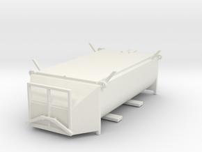 Asphaltmulde 12.0t  HO 1:87 Z 002 in White Natural Versatile Plastic