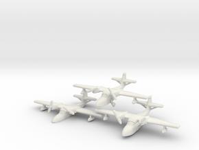 Grumman J4F Widgeon (three airplanes) 6mm 1/285 in White Natural Versatile Plastic