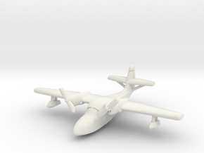 Grumman J4F Widgeon (In flight) 6mm 1/285 in White Natural Versatile Plastic